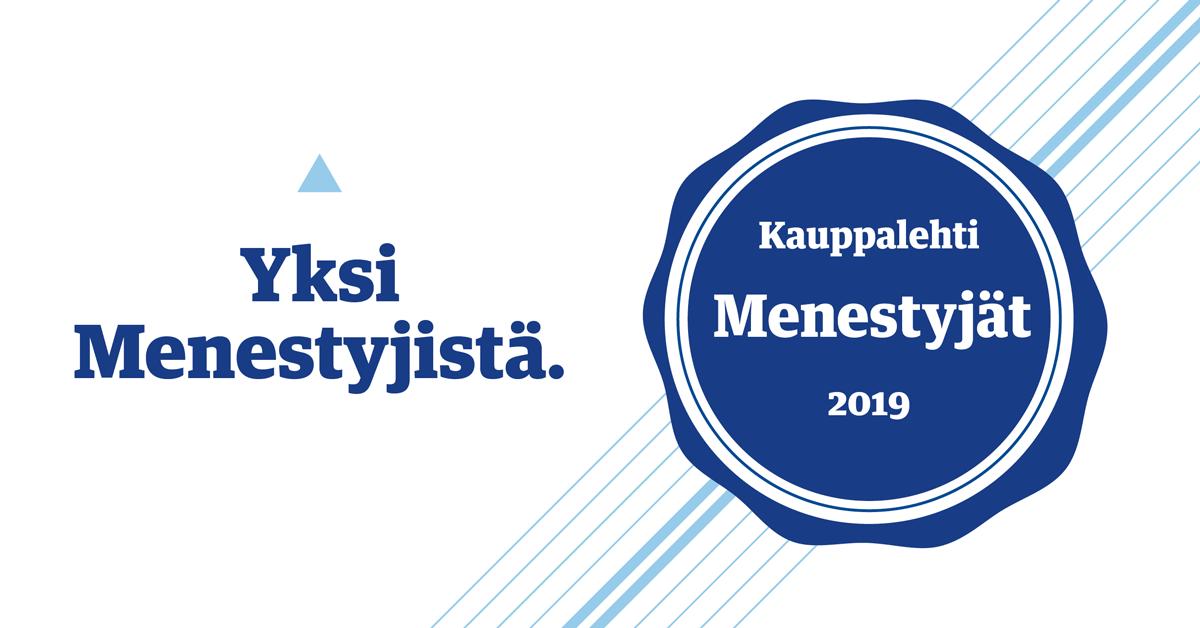 Kauppalehti Menestyjat 2019