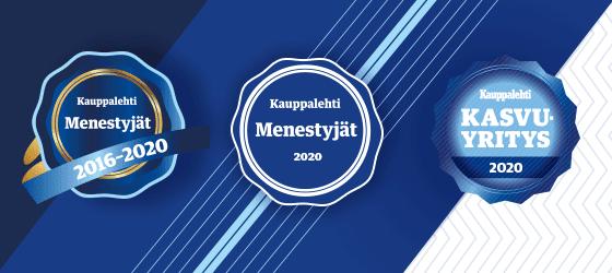 Kauppalehti Menestyjat 2020 - Kauppalehti Kasvuyritys 2020