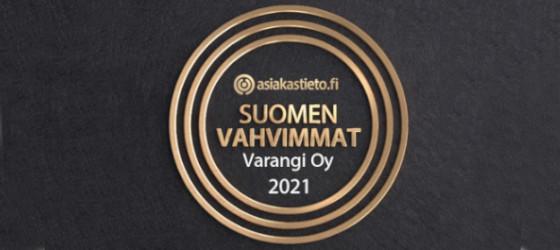 Asiakastieto Suomen Vahvimmat 2021